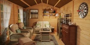 Would You Pay just $6700 for this Charming Log Cabin? Click for Floor Plans