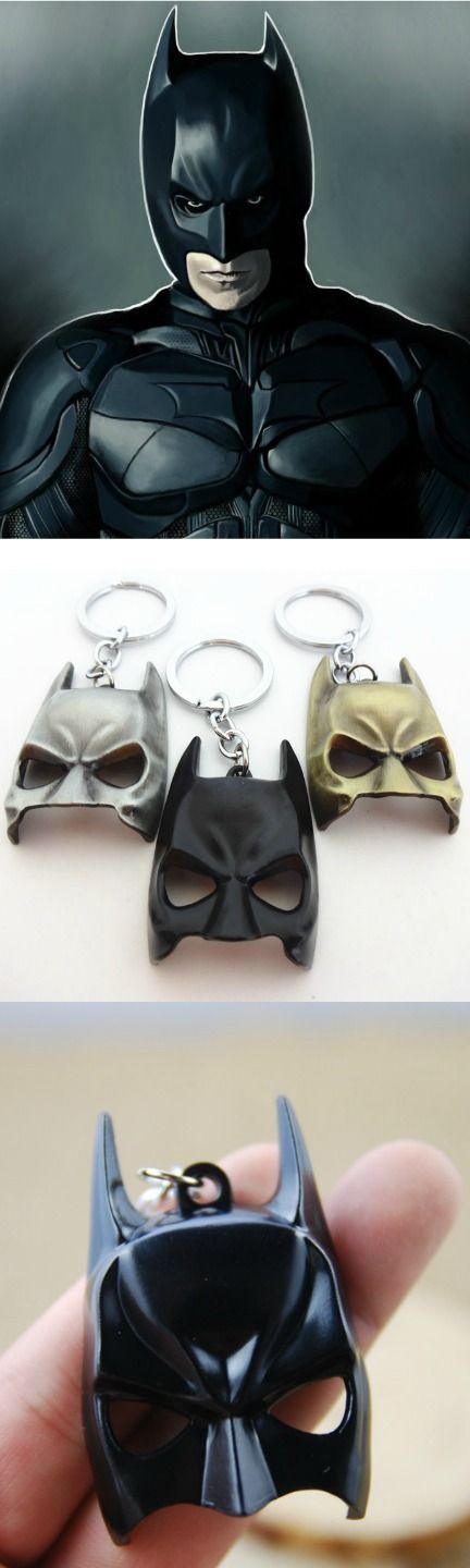 Dark Knight Batman Alloy Mask Keychain! Click The Image To Buy It Now or Tag Someone You Want To Buy This For. #Batman