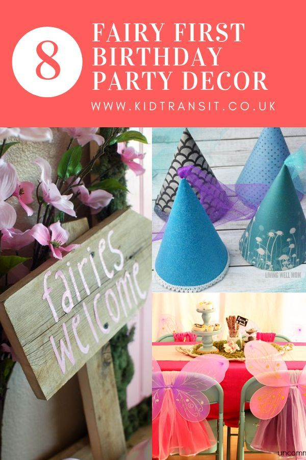 Fairy First Birthday Party Decor Ideas Fairy Party Decorations Childrens Party Decorations Fairytale Party Decorations