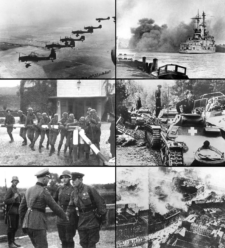 Germany invades Poland and WWII begins.