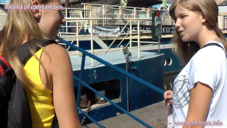 Tereza a Maja...potkaly se na lodi