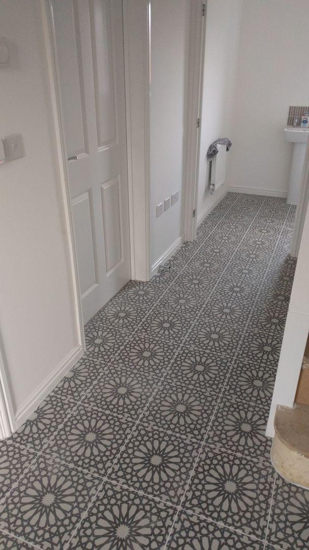 Marrakech Bellisa Silver Pattern Floor Tile Patterned Floor Tiles Tile Floor Floor Patterns