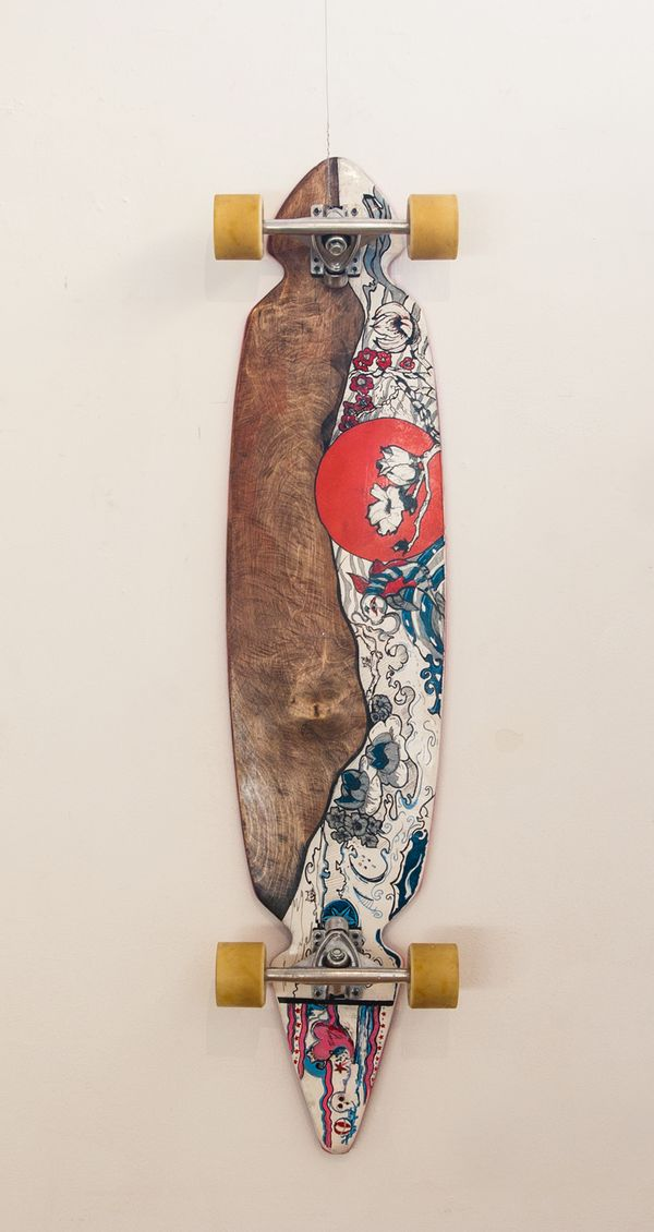ART OF STREET SURFING / Longboard exhibition by HOBOstudio.pl , via Behance