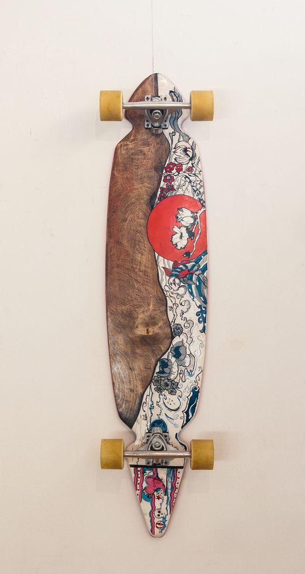 ART OF STREET SURFING / Longboard exhibition by HOBOstudio.pl , via Behance  #skate #skateboard