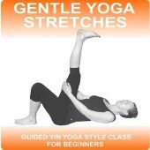 Gentle yoga Stretches is a Yin style yoga class suitable for beginners.  This audio yoga class will release deep set muscular tension.