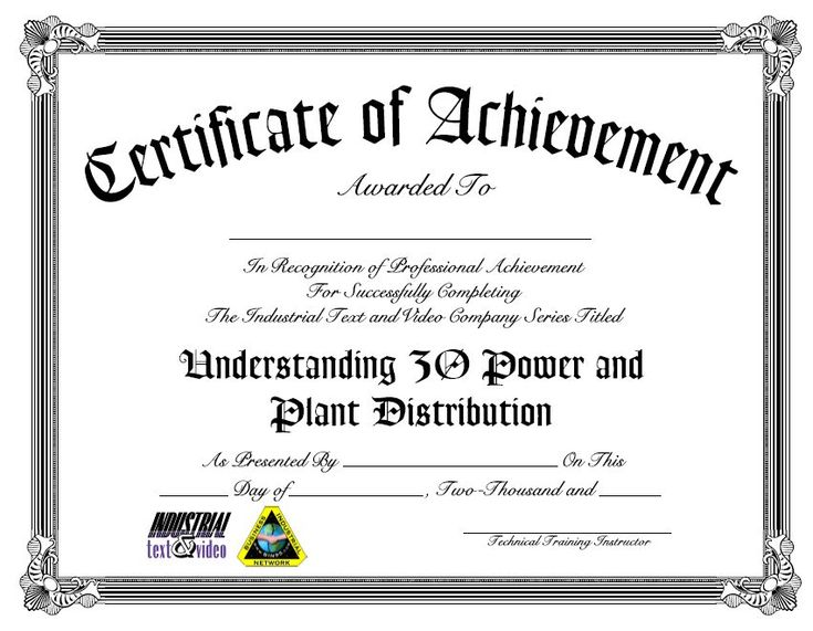 120 best Industrial Training images on Pinterest Industrial - sample training certificate
