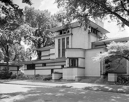 36 Best Flw Fricke House Images On Pinterest Prairie