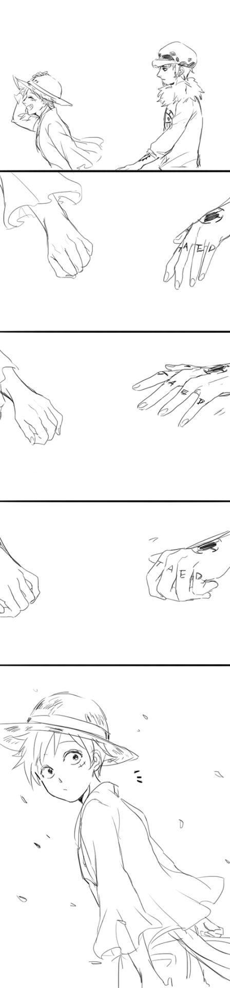 Luffy x Law LOVE : sichadeer:   My OTP is LawLu,they are soooooo cute...