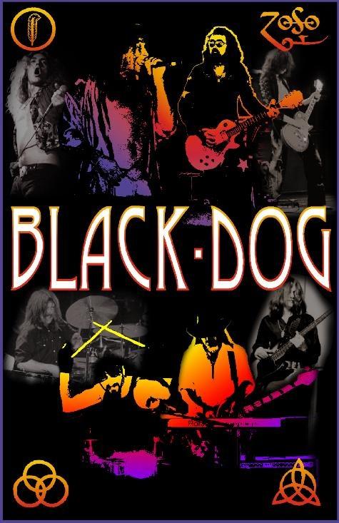 Led Zeppelin. Black Dog.