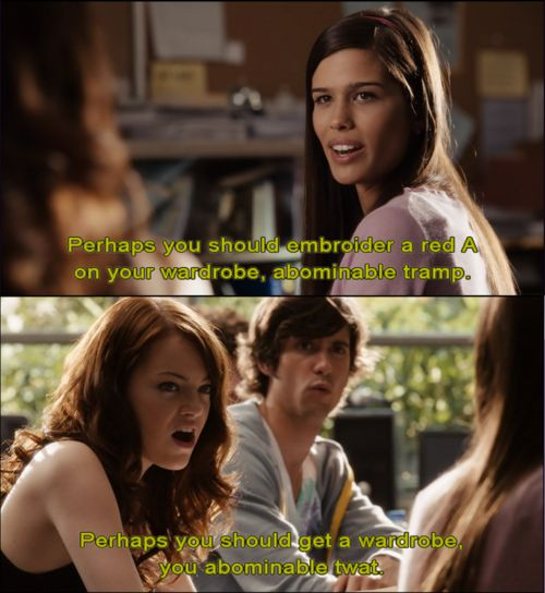 35 Easy A Quotes That Make Everyday Life Worth Living