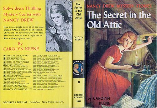 Collecting Nancy Drew®  - I think Ms. Drew led me to my love of Mysteries!!!