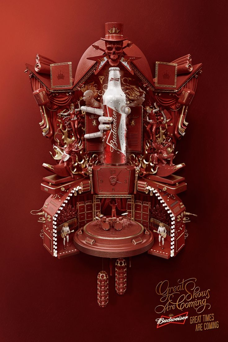 Budweiser: Cuckoo Clock, Music_Great shows are coming. Great times are coming.