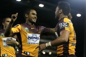 The Brisbane Broncos stopped a two-game slide as they hammered the Newcastle Knights 32-6 at Hunter Stadium on Friday night.