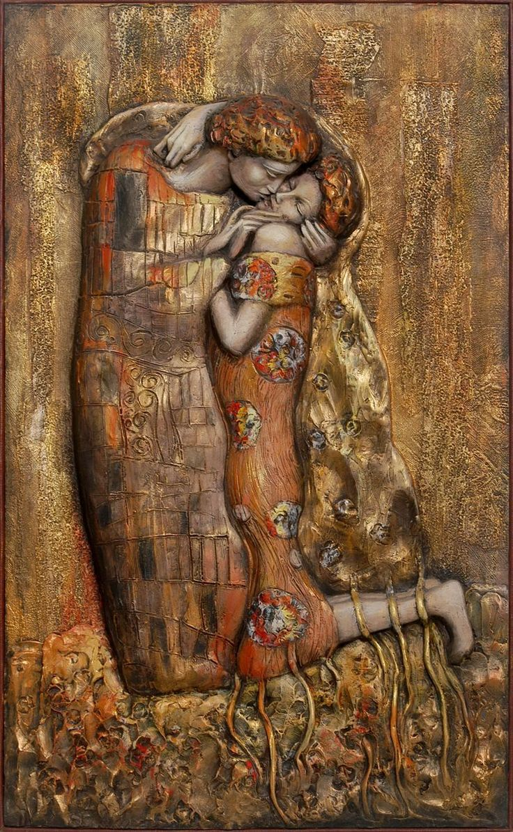 Love by Gustav Klimt