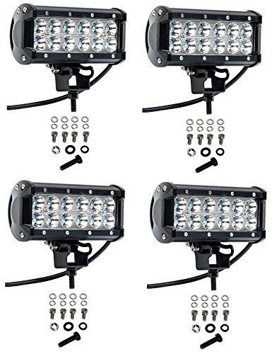 Cutequeen 4 X 36w 3600 Lumens Cree LED Spot Light for Off-road Jeep Lamp Tractor Marine SUV Boat 4x4 Off-road Lighting Rv Atv(pack of 4). For product info go to:  https://www.caraccessoriesonlinemarket.com/cutequeen-4-x-36w-3600-lumens-cree-led-spot-light-for-off-road-jeep-lamp-tractor-marine-suv-boat-4x4-off-road-lighting-rv-atvpack-of-4/