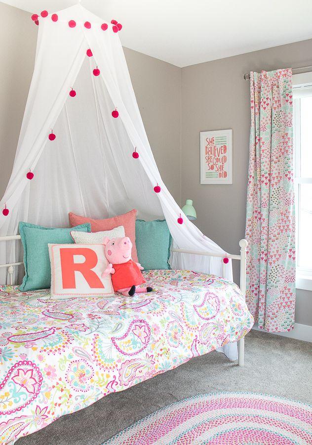 Peppa Pig Toddler Girls Room Girl Room Diy Toddler Bedroom