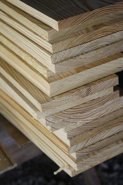 wood floors with 1x8 pine