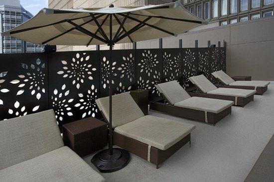 17 meilleures id es propos de brise vue aluminium sur pinterest barriere terrasse cl ture - Barriere designpool ...