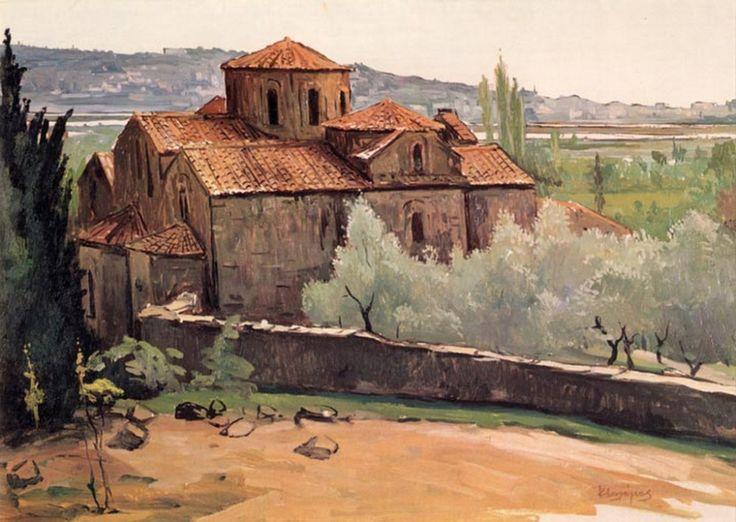 Μαλάμος Κώστας – Kostas Malamos [1913-2007] Μοναστήρι Βλαχερνών1971-72