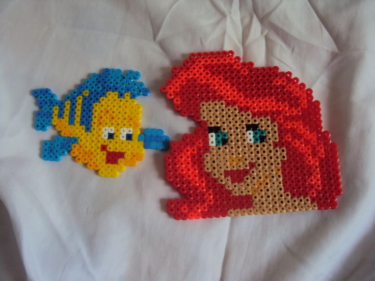 Perler Beads Little Mermaid