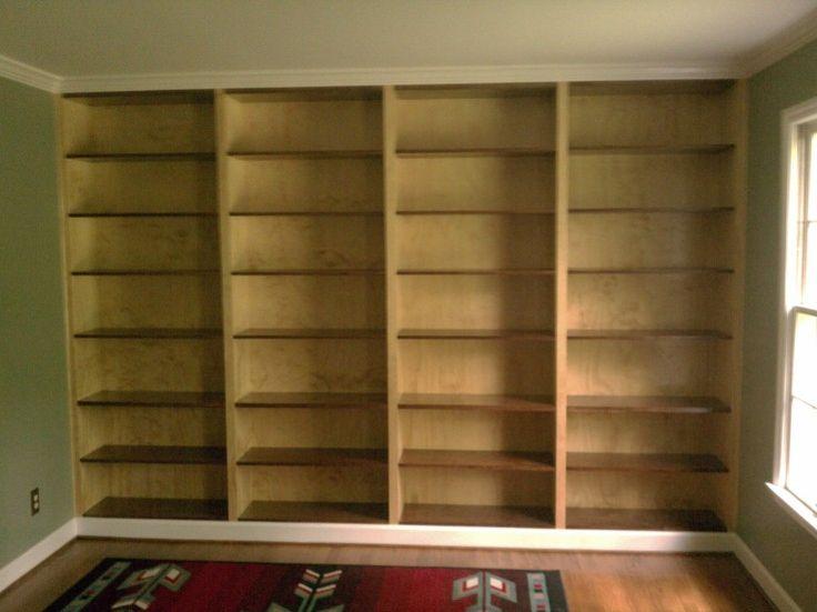 Diy Wood Shelves Bookcases
