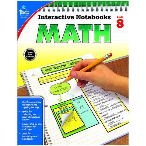 INTERACTIVE NOTEBOOKS MATH GR 8
