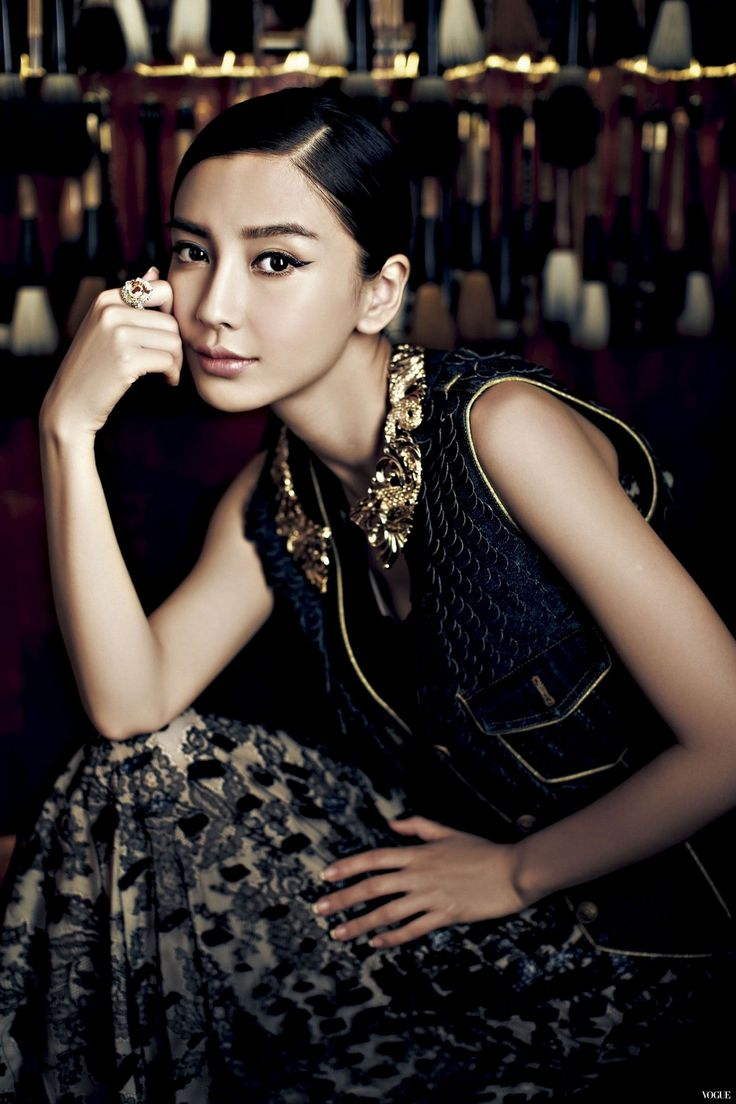 Angelababy for Vogue Taiwan July 2014