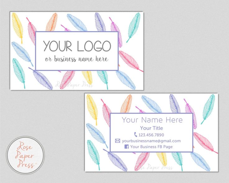 Feathers Business Cards | Custom Printable Business Card | Tribal Business Card by RosePaperPress on Etsy https://www.etsy.com/au/listing/503499184/feathers-business-cards-custom-printable