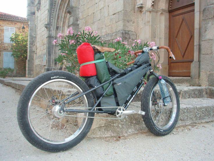 Reise-Bike. Find ich eine super Konstruktion.