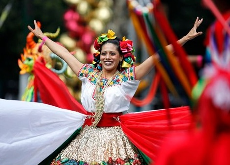 mexico independence day dancer