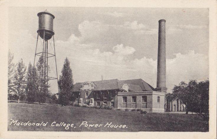 Power House Macdonald College STE ANNE DE BELLEVUE Quebec 1910-20s Heliotype Co. | eBay