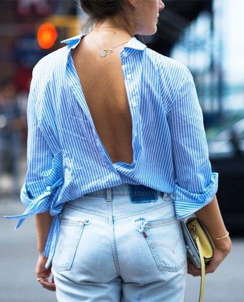 La chemise bleue : la pièce qu'il faut avoir dans son dressing - Les Éclaireuses