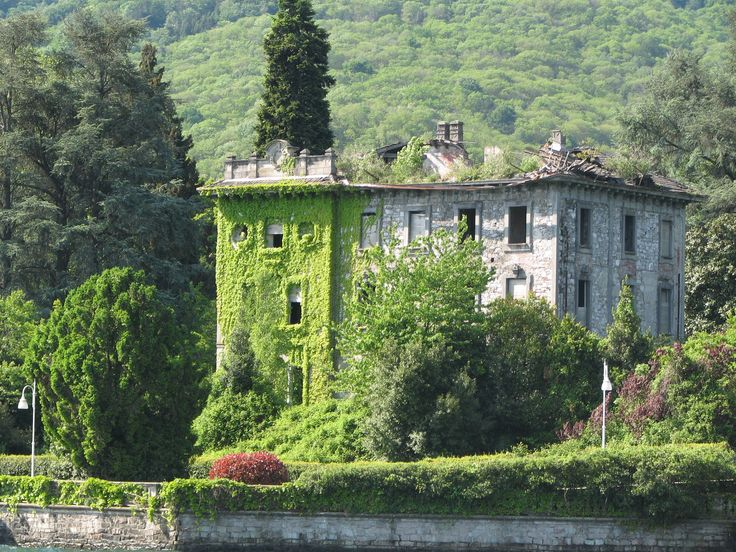For centuries Stresa has been a popular retreat for Europe's aristocrats, who have endowed the town with a number of villas. Unfortunately, some have been left abandoned. Stresa, located on Lake Maggiore in the Piedmont region of Italy.