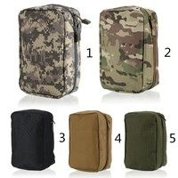 Wish | Tactical Molle Pouch Camo Airsoft Pouch Military First Aid Medical Bag Case