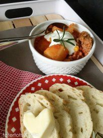 Favorite Slow Cooker Recipe: Tuscan Potato Soup! -- Tatertots and Jello