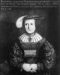 HdBG : Geschichte Bayerns : Ausstellung Bayern Bilder Susanna wife of OttoHeinrich of Bavaria, age 30.