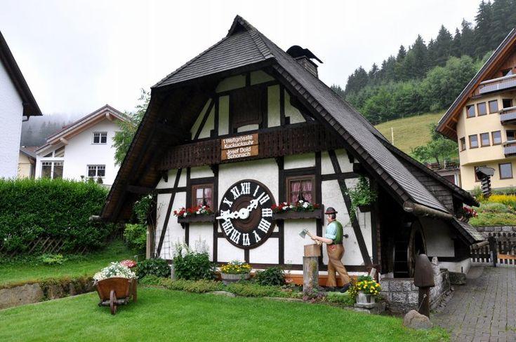 Reloj de Cuco de Schonach (Selva Negra, Alemania)