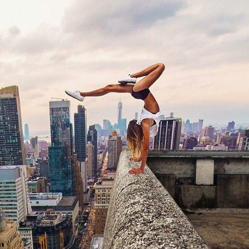 city, fitness, and motivation