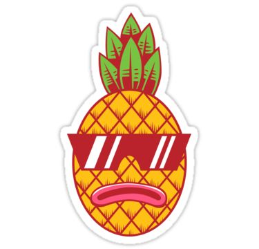 July independence and fresh pineapple. Find independent designs from our  favorite American artists, including 'Fresh Pineapple' by strangthingsA.