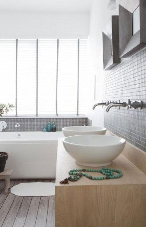 Badkamer kraan uit de muur | Interieur inrichting