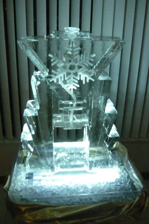 61 best Ice Sculptures - Christmas Holiday Theme images on ...