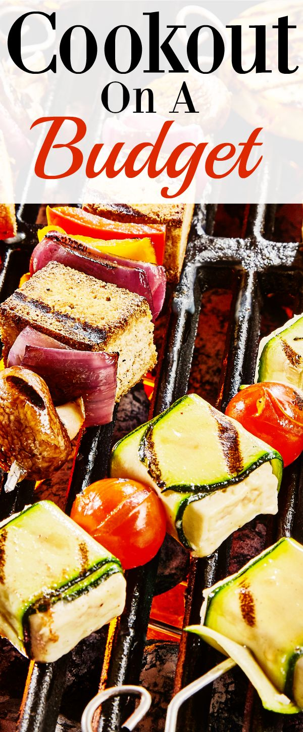 Spending time with family and friends shouldn't break the bank. Have a cookout on a budget.