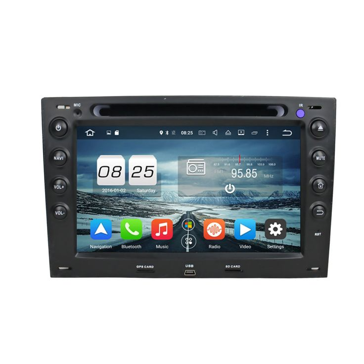 ROM 32G Octa Core Android 6.0 Fit RENAULT Megane 2003 2004 2005 20062007 2008 2009 Car DVD Player Navigation GPS 3G Radio
