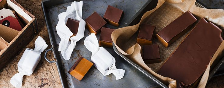 So moorish you won't want to share! Wrap these delicious chewy choc caramels up for the sweetest gift this Mother's Day.