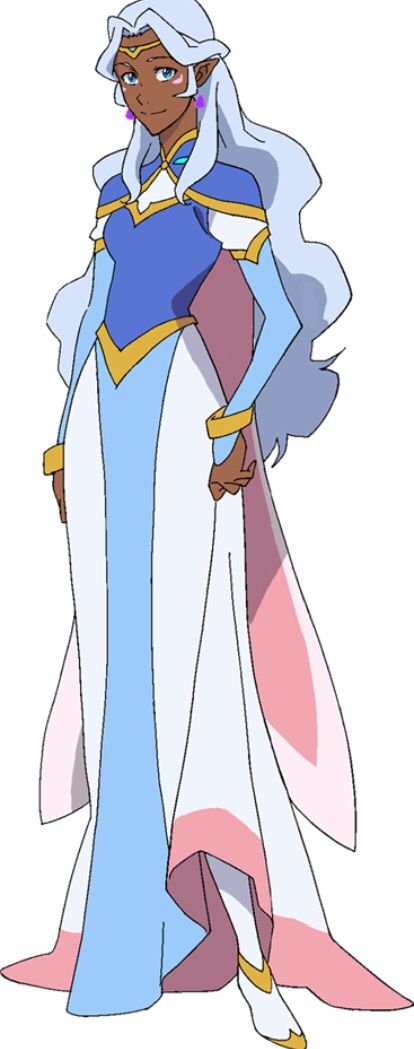 Princess Allura from Netflix Voltron