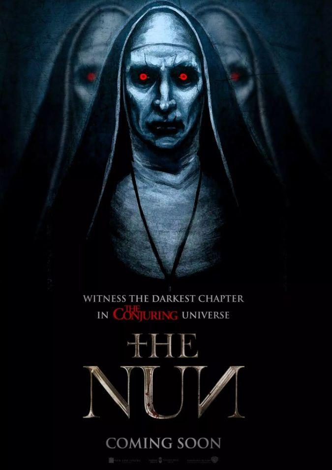 2018 The Nun Horror Movie Art Horror Movies Movies