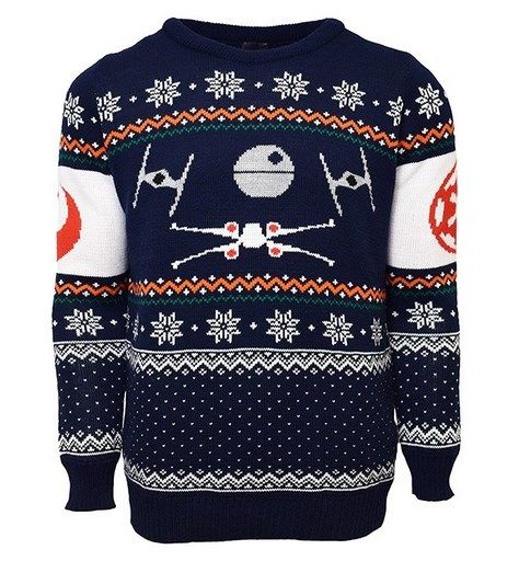 star wars official xmas jumper