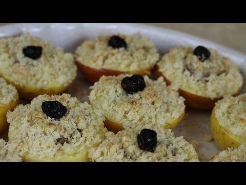 Super deser jabłka pieczone z kruszonką kokosową, czyli babeczki z jabłek