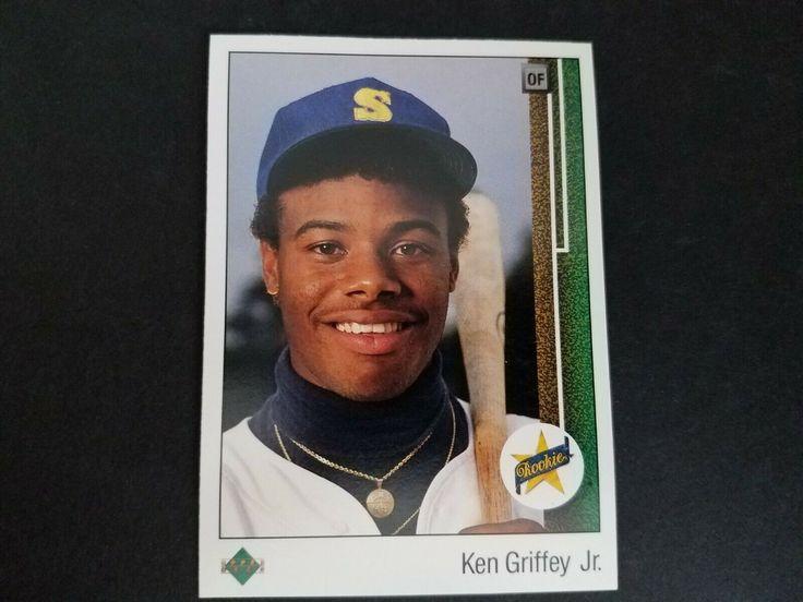 Ended ken griffey jr 1989 upper deck rookie card beauty