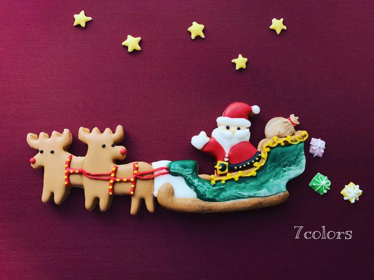 サンタクロース クリスマスクッキー サンタクッキー Santa Claus Christmas cookies